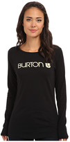 Burton Her Logo L/S Tee
