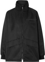 Burberry lightweight funnel-neck jacket