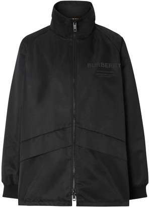 Burberry lightweight funnel-neck jacket
