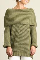 Umgee USA Fold Over Sweater