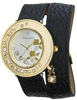 Laura Ashley Women's LA31008BK Analog Display Japanese Quartz Watch