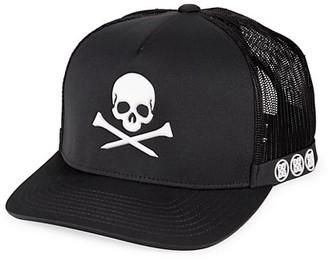 G/Fore Skull & Tees Trucker Hat