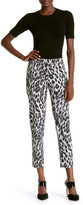 Anne Klein Animal Jacquard Bowie Cropped Pant
