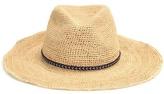 Hat Attack Raffia Crochet Hat