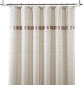 Royal Velvet Battista Jacquard Shower Curtain