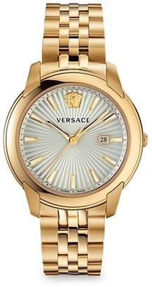 Versace V-Urban Stainless Steel Bracelet Watch