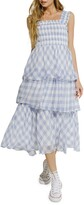 Thumbnail for your product : ENGLISH FACTORY Gingham Check Sundress