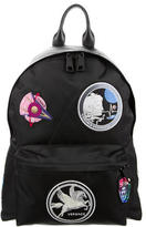 Versace Embellished Embroidered Backpack w/ Tags