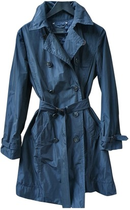 Max Mara Navy Trench Coat for Women