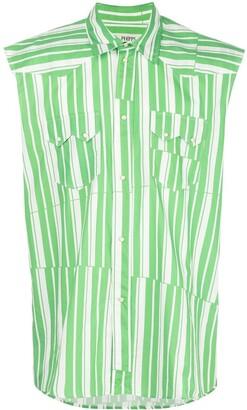Phipps Striped Sleeveless Shirt