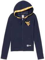 PINK West Virginia University Perfect Full-Zip Hoodie