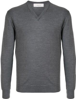 Cerruti V-neck wool jumper