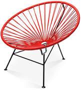 Mexa Sayulita Lounge Chair - Red red/black