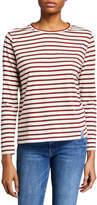 Kule The Modern Long-Sleeve Striped Top