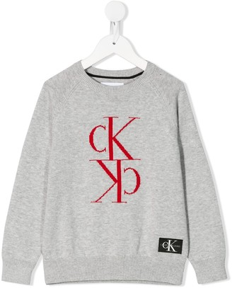Calvin Klein Kids logo jumper