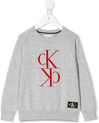 Calvin Klein logo jumper