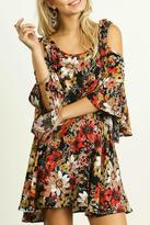 Umgee USA Fall Floral Dress