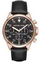 Michael Kors Gage Round Strap Chronograph Watch