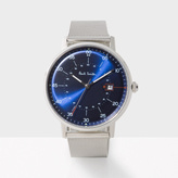 Paul Smith Men's Navy And Silver 'Gauge' Watch