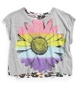 Flowers by Zoe 'Daisy' Crop Tank Top (Big Girls)