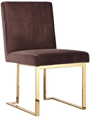 Pangea Set Of 2 Gold Dexter Side Chairs