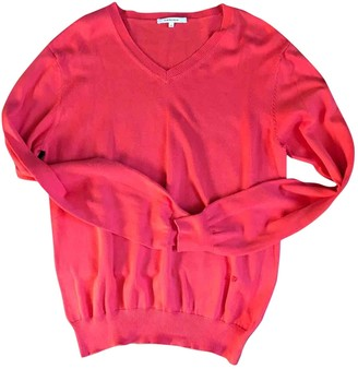 Carven Pink Cotton Knitwear & Sweatshirts