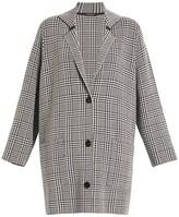 Thumbnail for your product : Marina Rinaldi, Plus Size Madre Wool-Blend Glen Plaid Coat