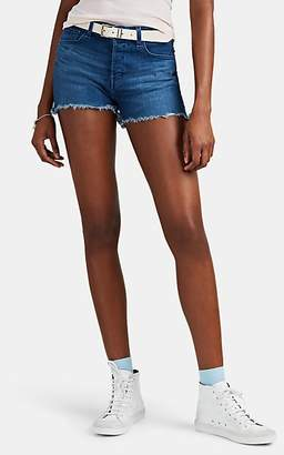 J Brand Women's Gracie Denim Cutoff Shorts - Blue