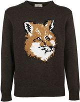 Kitsune Maison Fox Head Sweater