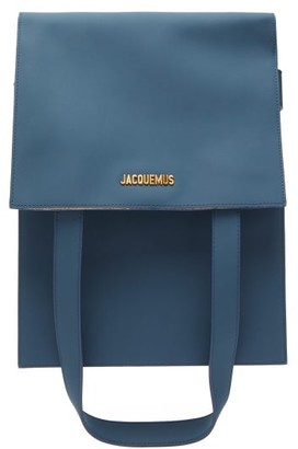 Jacquemus Murano Leather Belt Bag - Womens - Navy