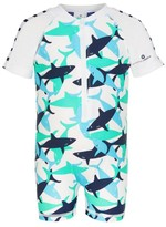 Snapper Rock Toddler Shark Sunsuit