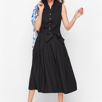 Talbots Full Poplin Skirt