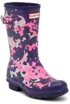 Hunter Short Waterproof Flecktarn Camo Matte Rain Boot
