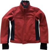 Prada Red Polyester Jackets