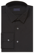 Lanvin Solid Barrel Cuff Dress Shirt
