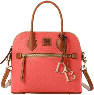 Dooney & Bourke Pebble Grain Domed Satchel