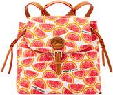 Dooney & Bourke Pomelo Flap Backpack