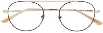 Calvin Klein Aviator-Frame Glasses