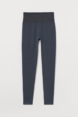 H&M Seamless Sports Leggings - Gray