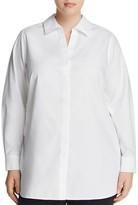 Foxcroft Plus Vera Long Sleeve Tunic