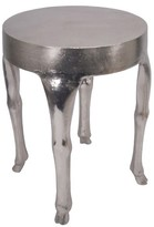 Threshold Deer Leg Accent Table Silver