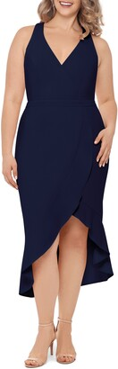 Xscape Evenings High/Low Midi Dress