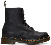 Dr. Martens Black Eight-Eye Pascal Boots