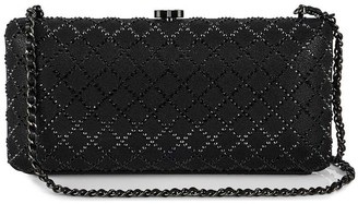 Chanel Pre Owned 2017 crystal-embellished Iridescent clutch