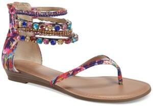Thalia Sodi Irina Bling Flat Sandals, Created for Macy's Women's Shoes
