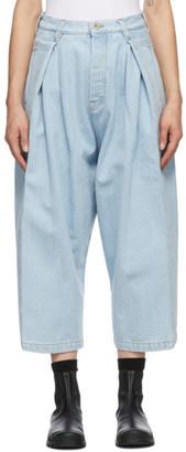 Loewe Blue Oversized Jeans