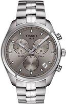 Tissot Men's 'PR 100' Quartz Stainless Steel Casual Watch, Color:Silver-Toned (Model: T1014171107100)