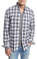 Joe's Jeans Seattle Brushed Plaid Sport Shirt