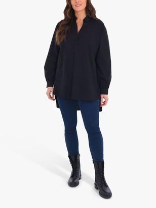 Live Unlimited Curve Longline Shirt, Black