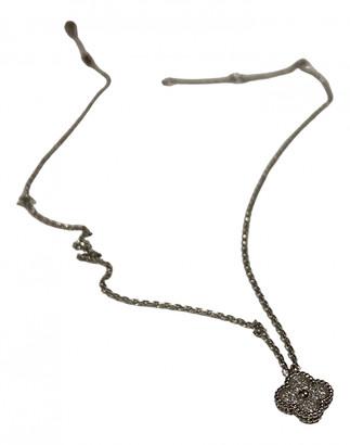 Van Cleef & Arpels Alhambra Silver White gold Necklaces